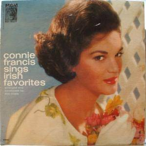 Cover - Connie Francis: Sings Irish Favorites