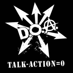 D.O.A.: Talk-Action=0 - Cover
