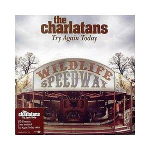 The Charlatans: Try Again Today - Cover