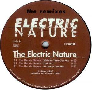 Cover - Electric Nature: Electric Nature, The