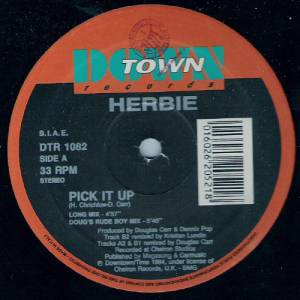 Cover - Herbie: Pick It Up