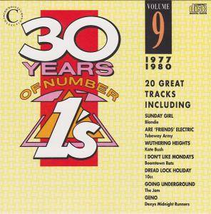 30 Years Of Number Ones / 1's Volume 09 / 1977 - 1980 - Cover