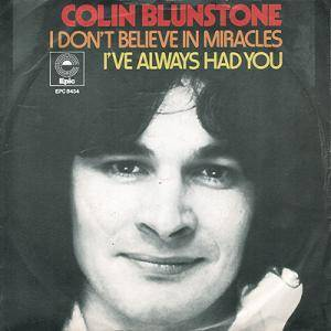 Cover - Colin Blunstone: I Don't Believe In Miracles