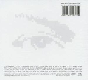 Michael Jackson: Invincible (CD) - Bild 2
