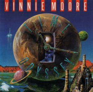 Vinnie Moore: Time Odyssey - Cover