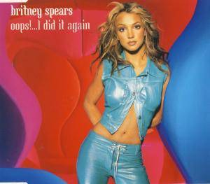Britney Spears: Oops!... I Did It Again - Cover