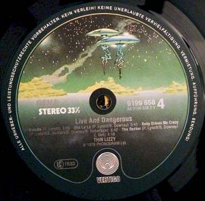 Thin Lizzy: Live And Dangerous (2-LP) - Bild 5