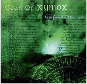 Clan Of Xymox: Notes From The Underground - Cover
