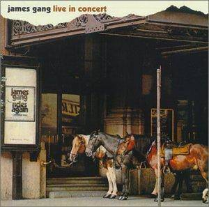 James Gang: Live In Concert - Cover