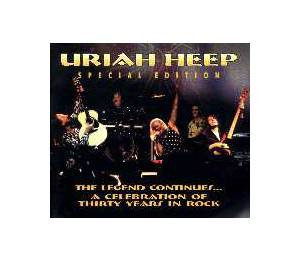 Uriah Heep: Future Echoes Of The Past - Cover