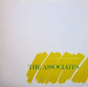 Cover - Associates, The: Tell Me Easter's On Friday