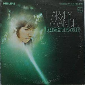 Cover - Harvey Mandel: Righteous