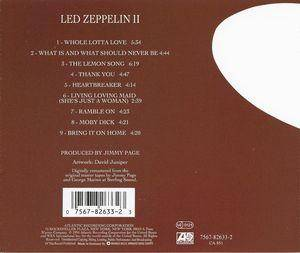 Led Zeppelin: II (CD) - Bild 2