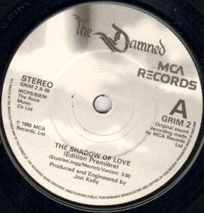 "The Damned: The Shadow Of Love (7"") - Bild 2"