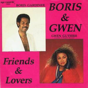 Cover - Boris Gardiner: Friends & Lovers