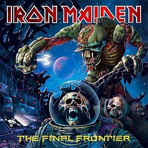 Iron Maiden: Final Frontier, The - Cover