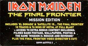Iron Maiden: The Final Frontier (CD) - Bild 4
