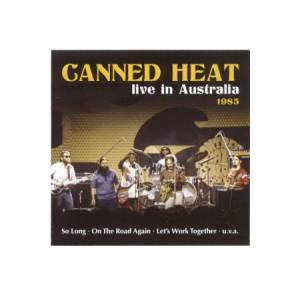 Canned Heat: Live In Australia - Cover