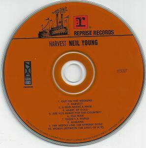Neil Young: Harvest (HDCD) - Bild 3