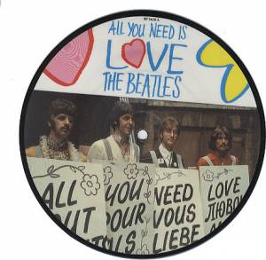 "The Beatles: All You Need Is Love (PIC-7"") - Bild 1"