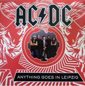 AC/DC: Anything Goes In Leipzig - Cover