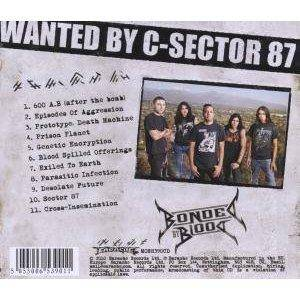 Bonded By Blood: Exiled To Earth (CD) - Bild 2