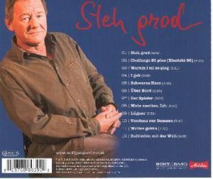 Wolfgang Ambros: Steh Grod (CD) - Bild 2