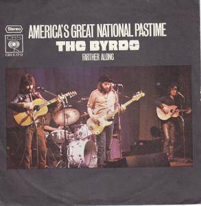 The Byrds: America's Great National Pastime - Cover