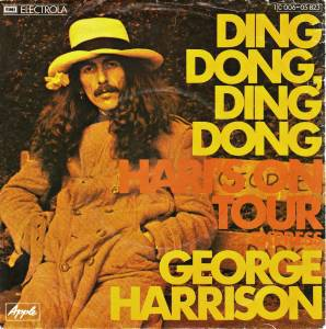 George Harrison: Ding Dong, Ding Dong - Cover
