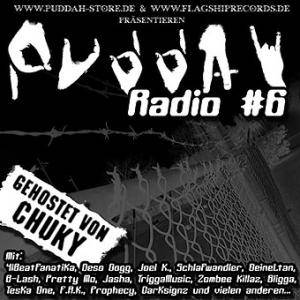 Cover - Teska One: Puddah Radio #6