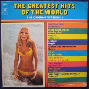 Greatest Hits Of The World - The Original Versions, The - Cover