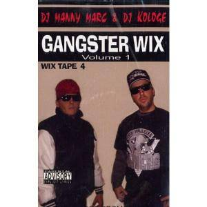 Cover - Frauenarzt & Manny Marc: Gangster Wix Volume 1 (Wix Tape 4)