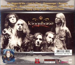 Kingsbane / Seven Years: Kingsbane (Split-CD) - Bild 2