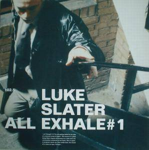Cover - Luke Slater: All Exhale # 1