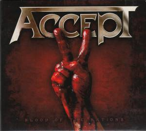 Accept: Blood Of The Nations - Cover
