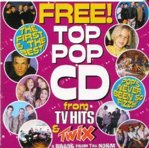 Top Pop CD from TV HITS & Twix - Cover