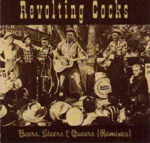 Revolting Cocks: Beers, Steers & Queers (Remixes) - Cover