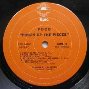 Poco: Pickin' Up The Pieces (LP) - Bild 5