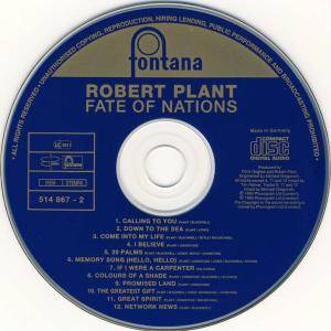 Robert Plant: Fate Of Nations (CD) - Bild 3