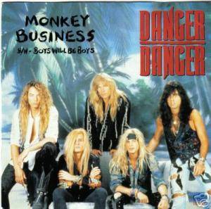 Danger Danger: Monkey Business - Cover