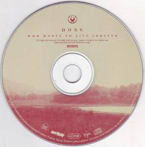 Dune: Who Wants To Live Forever (Single-CD) - Bild 4
