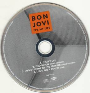 Bon Jovi: It's My Life (Single-CD) - Bild 5