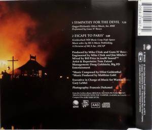Guns N' Roses / Elliot Goldenthal: Sympathy For The Devil (Split-Single-CD) - Bild 2