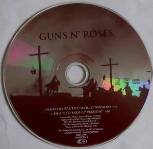 Guns N' Roses / Elliot Goldenthal: Sympathy For The Devil (Split-Single-CD) - Bild 3