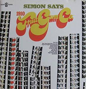 Cover - 1910 Fruitgum Company: Simon Says