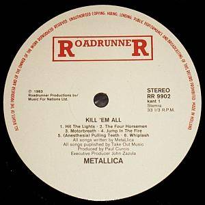Metallica: Kill 'em All (LP) - Bild 3