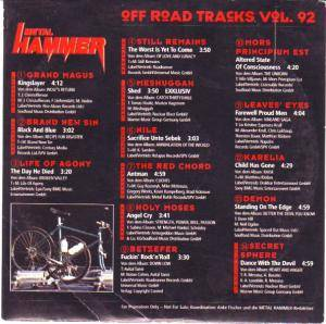 Metal Hammer - Off Road Tracks Vol. 92 (CD) - Bild 2