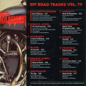 Metal Hammer - Off Road Tracks Vol. 79 (CD) - Bild 2