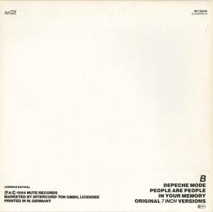 "Depeche Mode: People Are People (12"") - Bild 2"