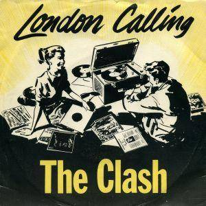 The Clash: London Calling - Cover